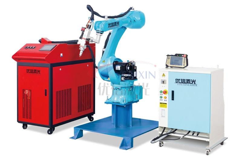 广东YX-JQR机器人激光焊接机